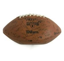 Vintage 1977 University So. Cal. USC Trojans PAC-10 Team Signed Football... - $182.29