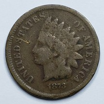 1873 Indian Head Cent Penny Coin Lot 519-101