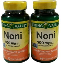 Spring Valley Noni Vegetarian Capsules, 500 mg, 60 Count. Exp. 12/2021. ... - $19.79