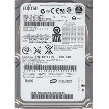 Mhz2160bj Fujitsu Mobile 160Gb 7200Rpm Sata Internal 2.5Inch Hard Dri