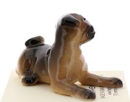 Hagen-Renaker Miniature Ceramic Dog Figurine Pug Fawn Baby Pup image 4