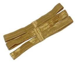 "3 pieces Chocolate brown 5//8/"" FOE interchangeable headband DIY hair bow supplies"