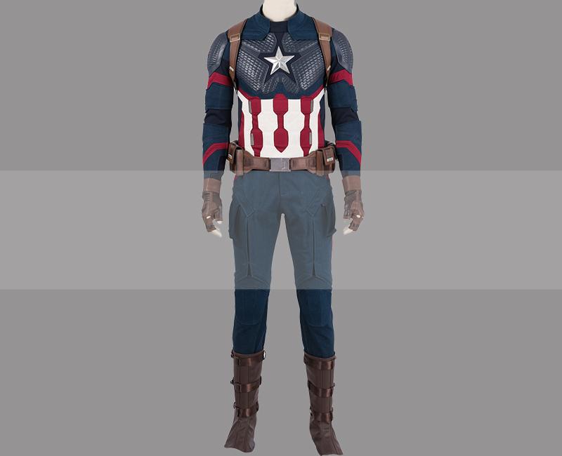 Avengers endgame captain america avengers iv uniform cosplay costume buy