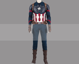 Customize Avengers: Endgame Captain America Avengers IV Uniform Cosplay ... - $355.00