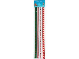 Sticky Trims, 4 - 12 Inch Sticky Back Ribbons