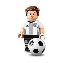 Nouveau Lego mini figurine S Maillot (Allemand FOOT ) séries 71014 - Mario Götze - $9.46