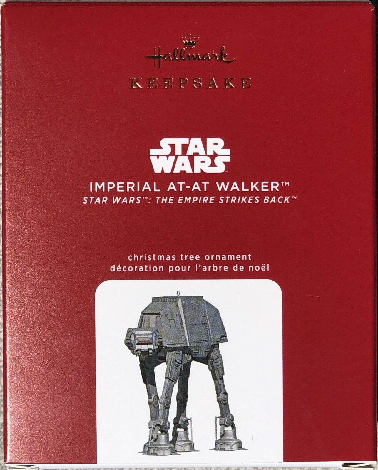 Primary image for Hallmark 2020 Star Wars Imperial At-At Walker Empire Metal Body Ornament