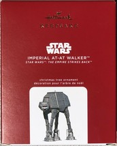 Hallmark 2020 Star Wars Imperial At-At Walker Empire Metal Body Ornament - $39.95
