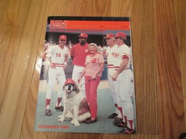 1986 Cincinnati Reds Express Publication Magazine MLB Baseball - $6.99
