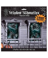 Amscan Haunted House Windows Silhouettes - $11.83