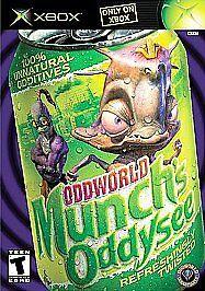 Oddworld: Munch's Oddysee  (Xbox, 2001)
