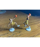 """(2) Kobe Bryant #8 & Shaquille O'Neal #34  1 1/2"""" Tall Miniatures (d) - $14.84"""