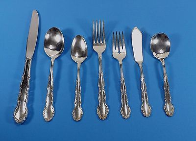 Primary image for ROGERS FLIRTATION CIRCA 1959 SILVERPLATE FLATWARE-CHOICE OF PIECES FLORAL SCROLL
