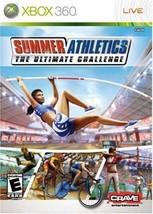XBOX 360 Summer Athletics The Ultimate Challenge Rated E - $9.90