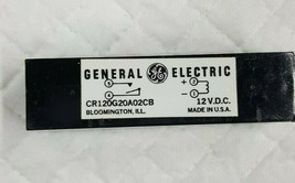 General Electric Relay Reed  CR120G20A02CB     5945-01-224-9044  12V.D.C - $19.79