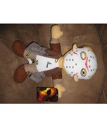 "JASON FRIDAY the THIRTEENTH 13th New Licensed Plush NWT Tags 13"" Toy Fac... - $11.99"