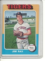 (b-31) 1975 Topps #89: Jim Ray- Factory Error - Severe off-Set Cut - $6.50
