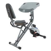 Desk Exercise Bike Stand Up Workstation Folding Standing Cycle Home Offi... - £231.54 GBP