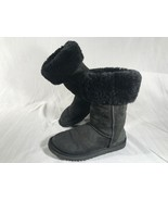UGG AUSTRALIA Size W6 Classic Tall 5815 Warm Sheepskin Suede Winter Boot... - $34.64