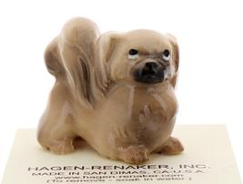 Hagen-Renaker Miniature Ceramic Dog Figurine Pekingese - $9.49