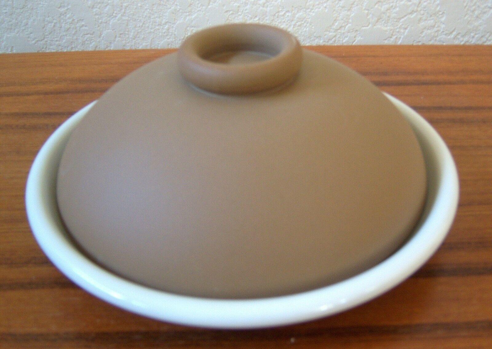 STUDIO NOVA BONNE CUISINE Plate Dish Serving w Lid GERALD PATRICK VINTAGE NEW - $69.89