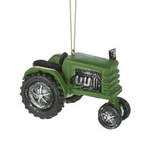 Green Tractor Ornament - $14.95