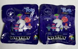 2 Hallmark  DreamWorks Trolls World Tour Mystery Christmas Ornament Blin... - $5.14