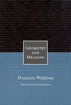 Geometry and Meaning [Paperback] Widdows, Dominic - $15.93