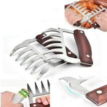 Multifunction Meat Shredder BBQ Fork Bear Claw Meat Separator Food Fork ... - $10.94