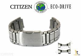 Citizen Eco-Drive S075181 Silver-Tone Titanium Watch Band Strap S103878 - $287.95