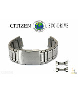 Citizen Eco-Drive S075181 Silver-Tone Titanium Watch Band Strap S103878 - $287.95