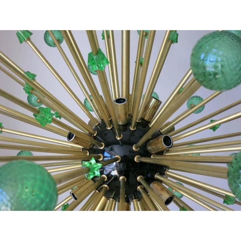 WM133 GREEN MURANO