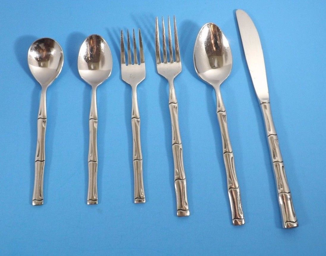 STANLEY ROBERTS ROGERS CITADEL STAINLESS FLATWARE-CHOICE OF PIECES - $5.27