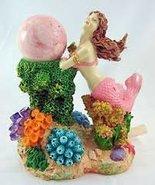 "Rollin' Rocks Poly-Resin Water Powered Aquarium Ornament ""Mermaid"" - $23.75"