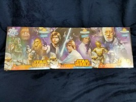Star Wars 3 puzzles make one panorama puzzle - $17.82
