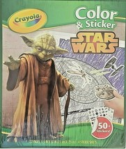 Crayola Star Wars Color and Sticker 32 Pages 50+ Stickers New In Sealed ... - $9.81