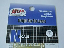Atlas #BLMA404 Freight Car Cut Levers (8 Pairs) Multiple Styles N-Scale image 5