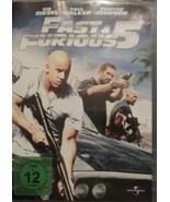 Fast & Furious 5 FSK 12 Region 2 - $9.89