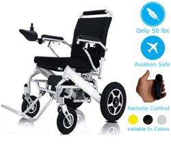 Lightweight Electric Wheelchair Portable Motorized Power Wheel Chair Pow... - $1,709.15
