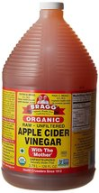 Bragg Organic Raw Unfiltered Apple Cider Vinegar With The Mother 1 Gal / 128 oz  - $45.99