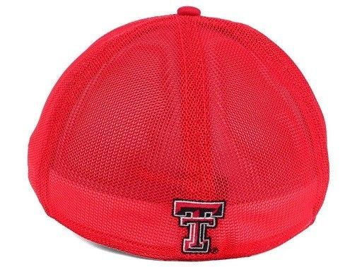 "Texas Tech Red Raiders NCAA ""Circle"" A-Flex Stretch Fitted Hat"