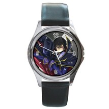 Hot Lelouch Lamperouge Zero Code Geass Manga Anime Leather Watch wristwatch Gift - $11.00