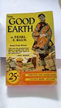 THE GOOD EARTH, Pearl Buck Pocket Book Inc. Perma-Gloss 25Cents on cover... - $10.39