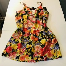 NWT Forever 21 Yellow and red floral cami maxi dress - $17.82
