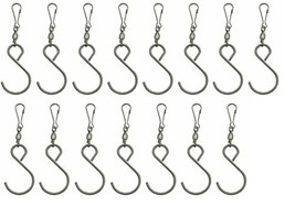 DuBnt Swivel Hooks Clips for Hanging Wind Spinners Wind Chimes 15