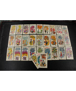 1961 Topps Giant Funny Valentine Cards 30 Funny Valentine CARDS Lot - $177.21