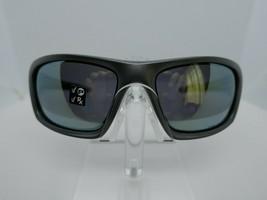 Oakley Valve Dark Grey Emerald Iridium Polarized 60 x 16 Sunglass Eyeglass Frame - $74.20