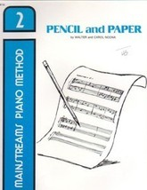 Mainstreams Piano Method Pencil And Paper Book 2 Noona - $6.95