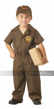 California Costumes UPS Driver Mail Child Toddler Halloween Costume 00043 - $23.43