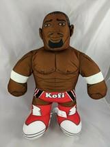 """Mattel WWE Kofi Wrestling Plush Doll Sounds 16"""" 2012 Stuffed - $10.03"""